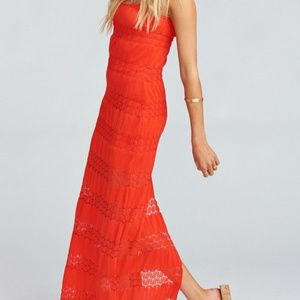 NWT Show Me Your Mumu Harlowe Lace Maxi Dress